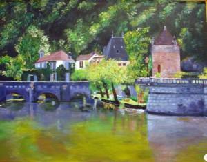 2ème prix peinture - Mireille Lecomte