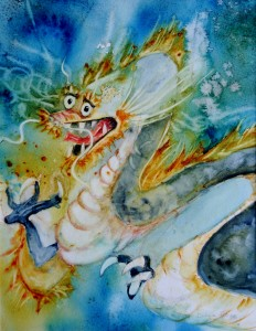 thème 2013 - le Vietnam dragon - Evelyne Roy