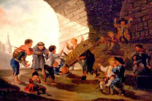 Goya, Enfants jouant au taureau[1]