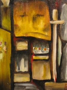 Antoine Rios 2ème prix de peinture