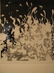 Nicolas Boucher prix des œuvres sur papier